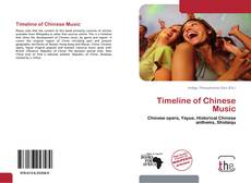 Bookcover of Timeline of Chinese Music
