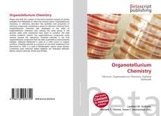 Capa do livro de Organotellurium Chemistry