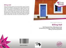 Bookcover of Billing Hall