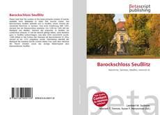 Обложка Barockschloss Seußlitz