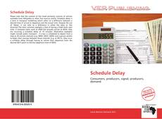 Couverture de Schedule Delay