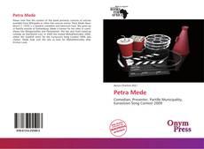 Buchcover von Petra Mede