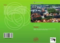Bookcover of Koper