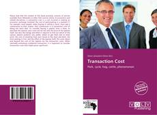 Couverture de Transaction Cost