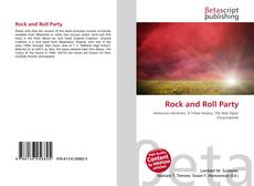 Capa do livro de Rock and Roll Party