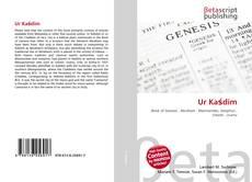 Bookcover of Ur Kaśdim