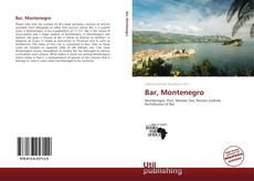 Bookcover of Bar, Montenegro