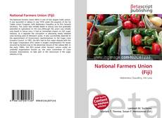 Bookcover of National Farmers Union (Fiji)