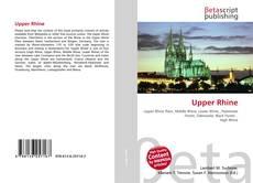 Buchcover von Upper Rhine