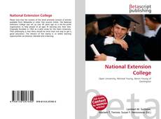 Обложка National Extension College