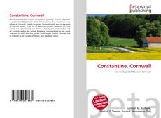 Bookcover of Constantine, Cornwall