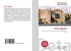 Bookcover of Oria, Apulia