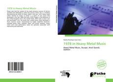 1978 in Heavy Metal Music kitap kapağı
