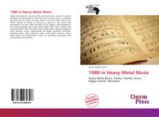 Capa do livro de 1980 in Heavy Metal Music