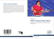 1983 in Heavy Metal Music kitap kapağı