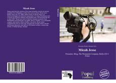Micah Jesse kitap kapağı