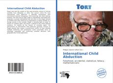 Обложка International Child Abduction