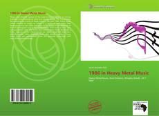 Copertina di 1986 in Heavy Metal Music