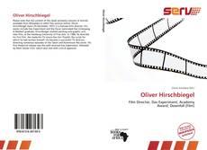 Bookcover of Oliver Hirschbiegel