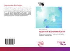 Couverture de Quantum Key Distribution
