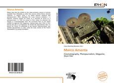 Capa do livro de Marco Amenta