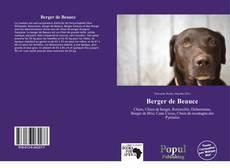 Copertina di Berger de Beauce