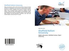 Bookcover of Sheffield Hallam University
