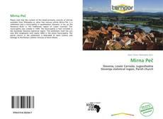 Portada del libro de Mirna Peč