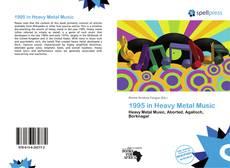 1995 in Heavy Metal Music kitap kapağı