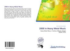 Capa do livro de 2000 in Heavy Metal Music