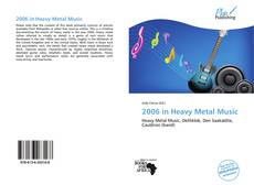 Capa do livro de 2006 in Heavy Metal Music