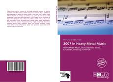Bookcover of 2007 in Heavy Metal Music