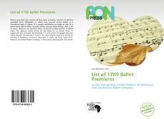 List of 1789 Ballet Premieres的封面