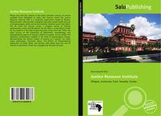 Couverture de Justice Resource Institute