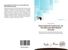 Capa do livro de International Conference on Parallel and Distributed Systems