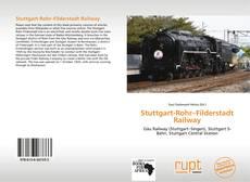 Bookcover of Stuttgart-Rohr–Filderstadt Railway