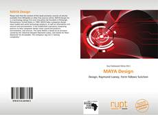 Bookcover of MAYA Design
