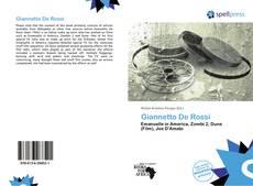 Bookcover of Giannetto De Rossi