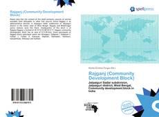 Bookcover of Rajganj (Community Development Block)