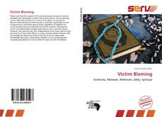 Victim Blaming kitap kapağı