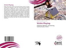 Victim Playing kitap kapağı