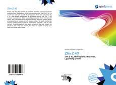 Zlín Z 43的封面