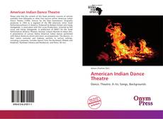 Bookcover of American Indian Dance Theatre