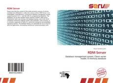 Bookcover of RDM Server
