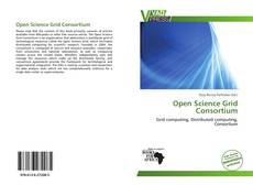 Bookcover of Open Science Grid Consortium
