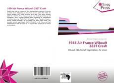 Обложка 1934 Air France Wibault 282T Crash