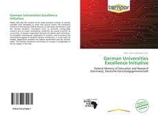 Portada del libro de German Universities Excellence Initiative