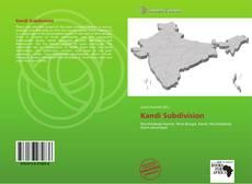 Bookcover of Kandi Subdivision