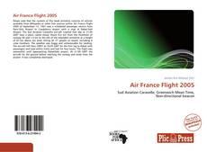 Обложка Air France Flight 2005