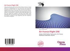 Portada del libro de Air France Flight 296